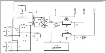 Схема для lg wd-80160n