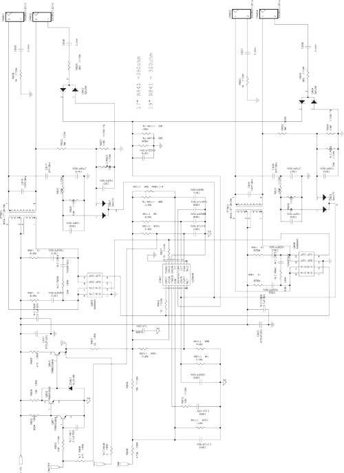 схема DC/AC-конвертора