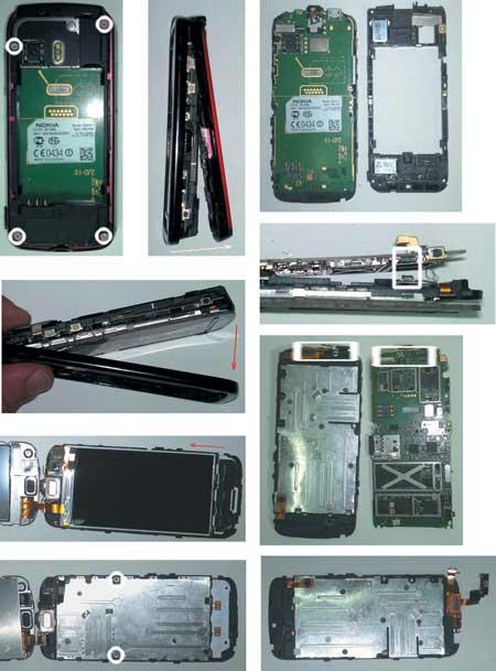 "Для разборки ""Nokia 5800"