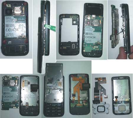 """Рис. 1. Разборку """"Nokia"""